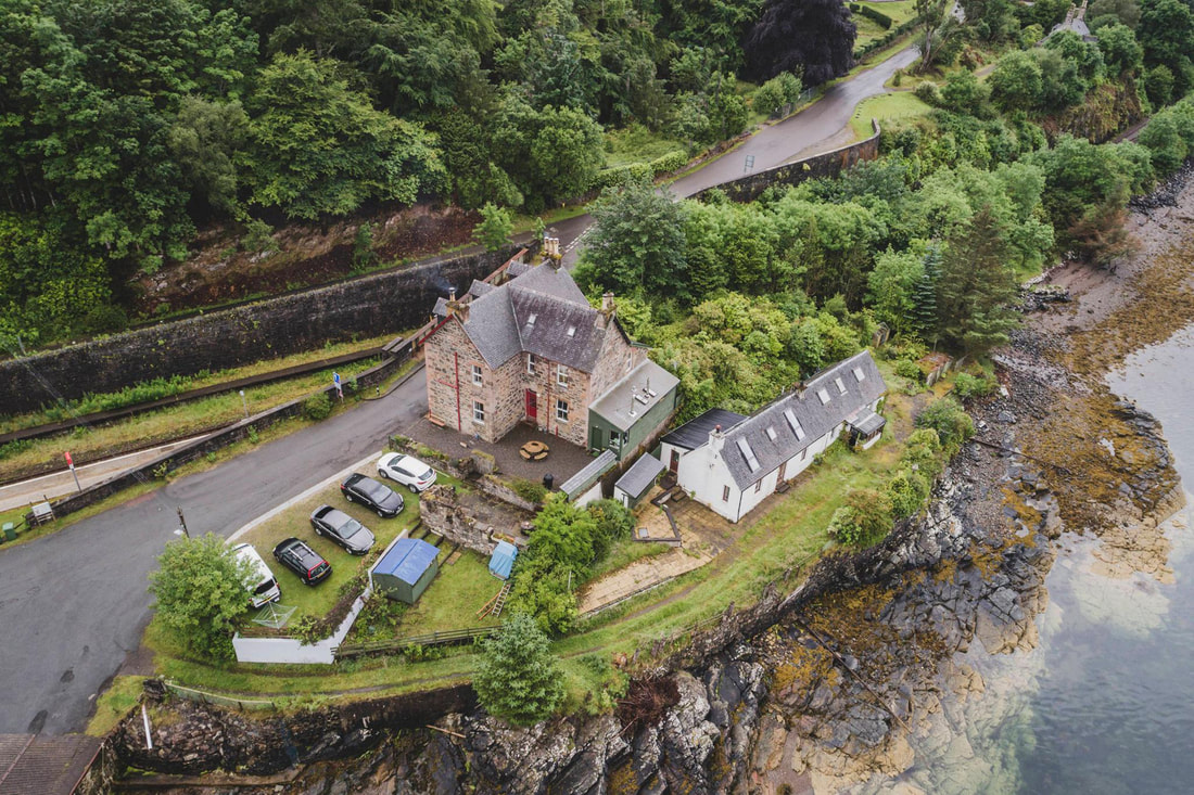 large self catering holiday house scotland